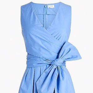 J. Crew Factory V-neck Wrap Dress